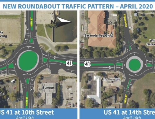 Downtown Sarasota, Florida US 41 Roundabout Educational Videos
