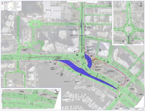 US41-Gulfstream Roundabout Project Phases
